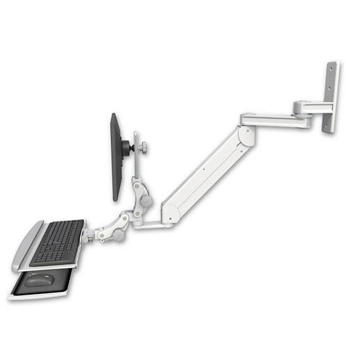 "ICW Titan Elite Paralink Wall Mount - 12"" T2 Arm With HDPE Paralink Keyboard"