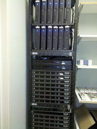 Network Server Rack
