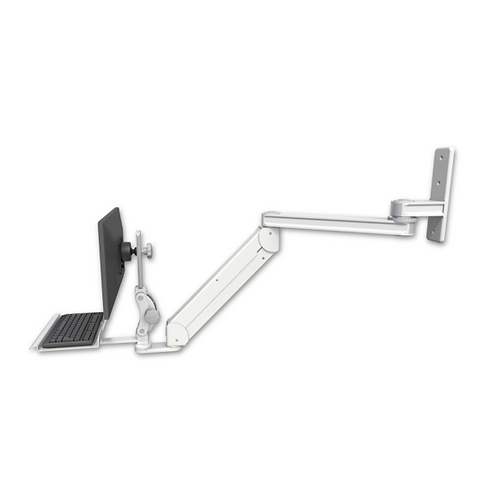 "ICW Titan Elite Paralink Wall Mount - 20"" T2 Arm with a 12"" Keyboard Tra"