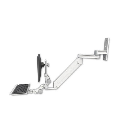 "ICW Titan Elite Paralink Wall Mount - 12"" T2 Arm - a 12"" Paralink Keyboard Tray"