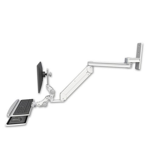 "ICW Titan Elite Paralink Wall Mount - 20"" T2 Arm With HDPE Paralink Keyboard"