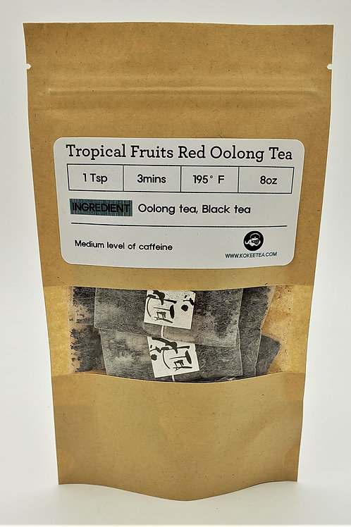 Tropical Fruits Red Oolong Tea