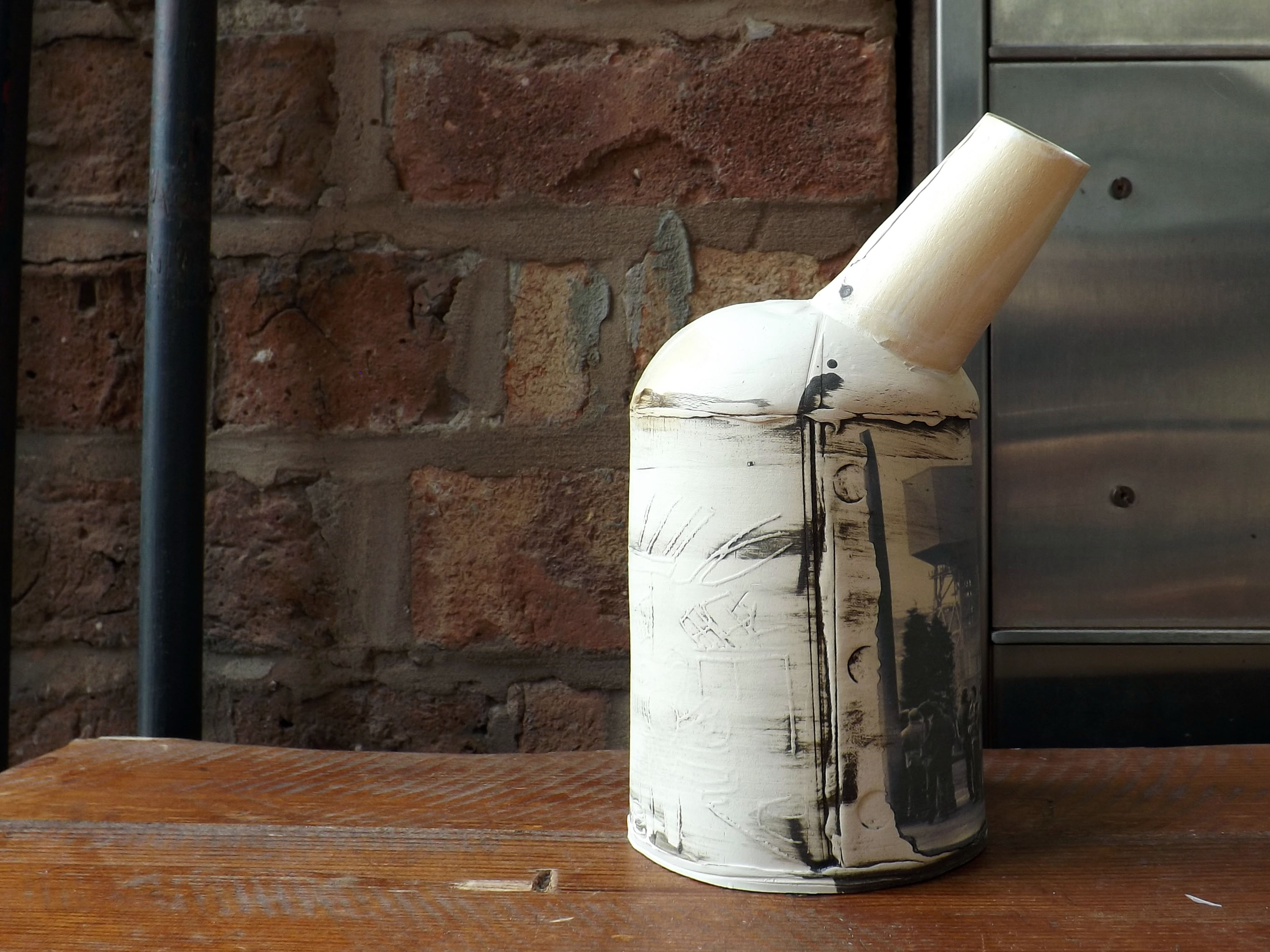 2 Ceramic vessels Stoke-on-Trent