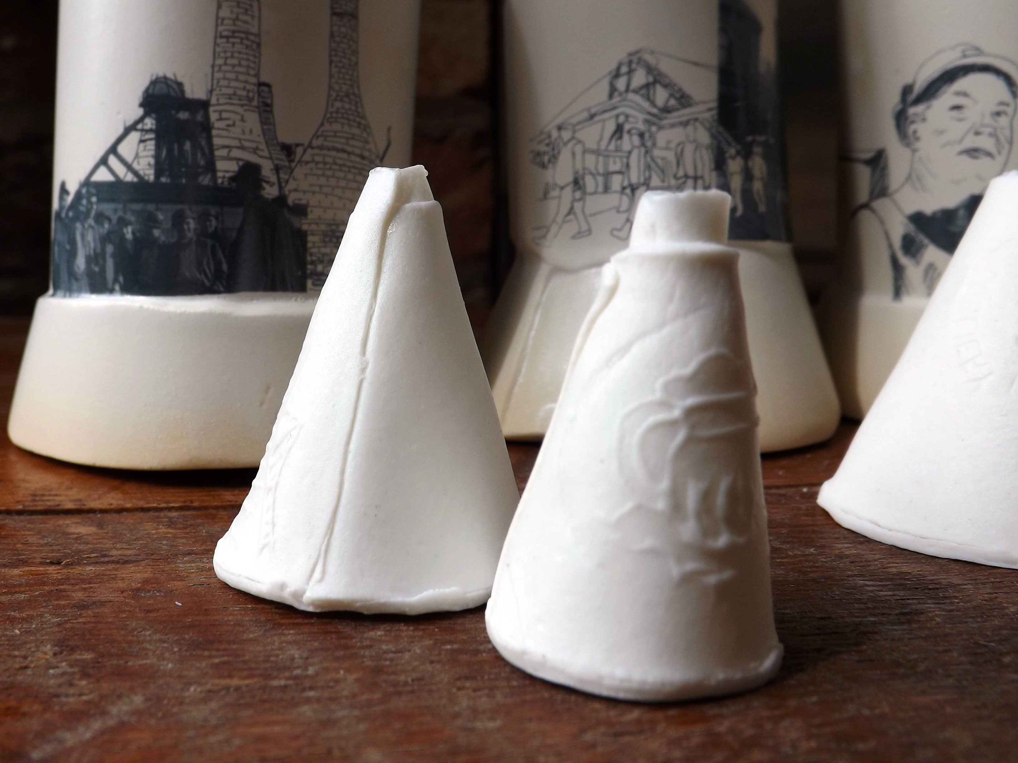 15 Ceramic vessels Stoke-on-Trent