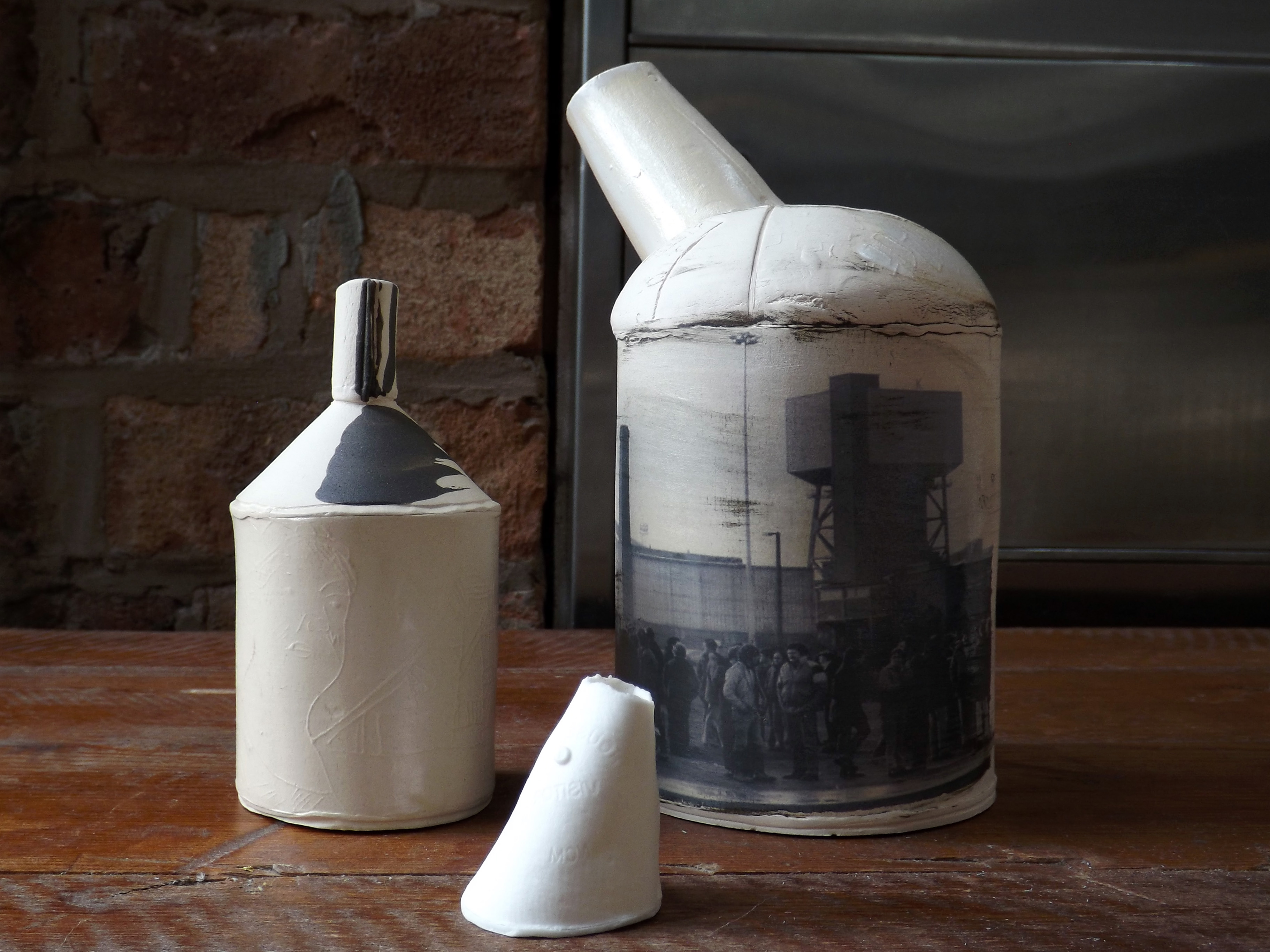 5 Ceramic vessels Stoke-on-Trent
