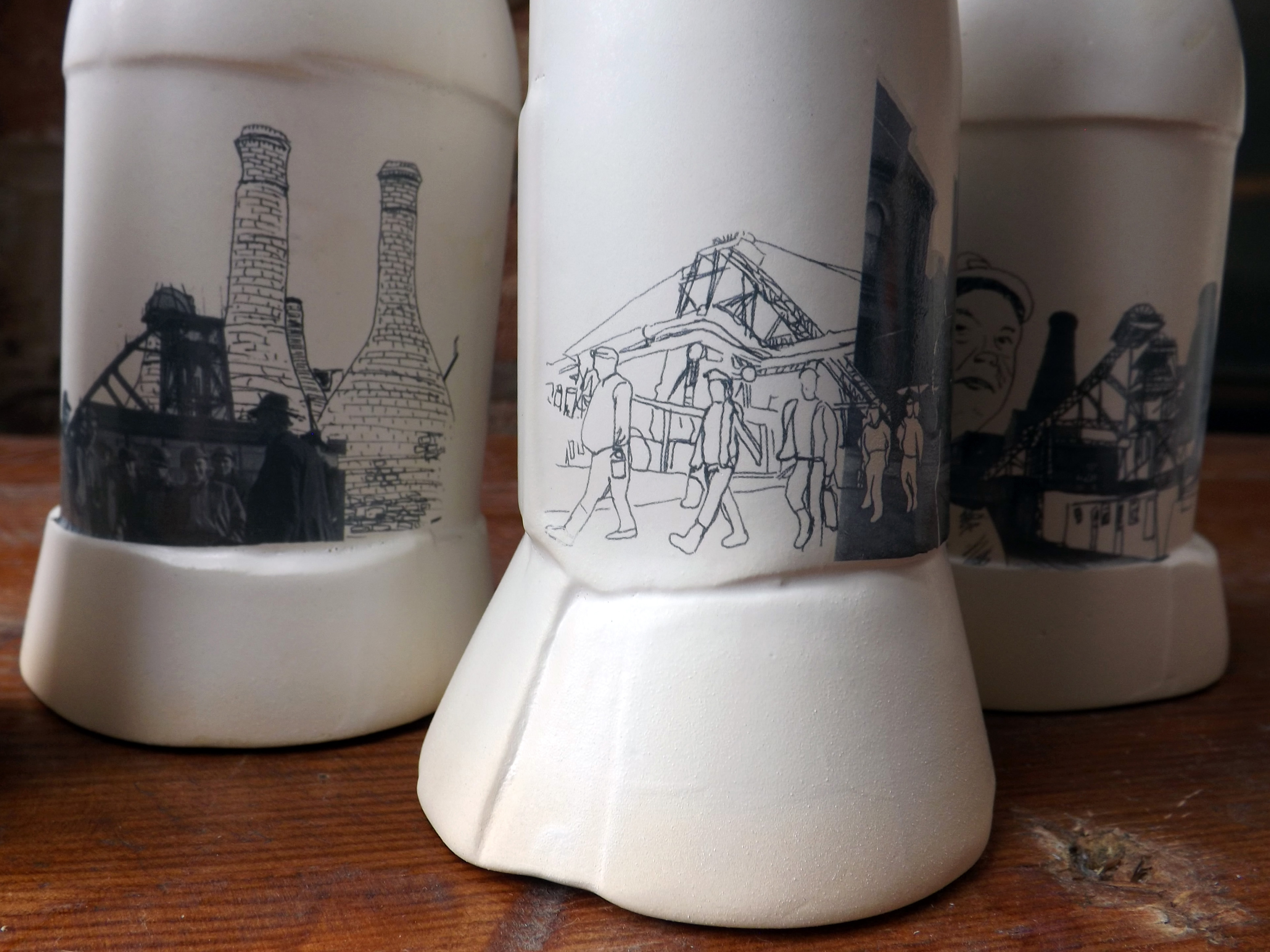 11 Ceramic vessels Stoke-on-Trent