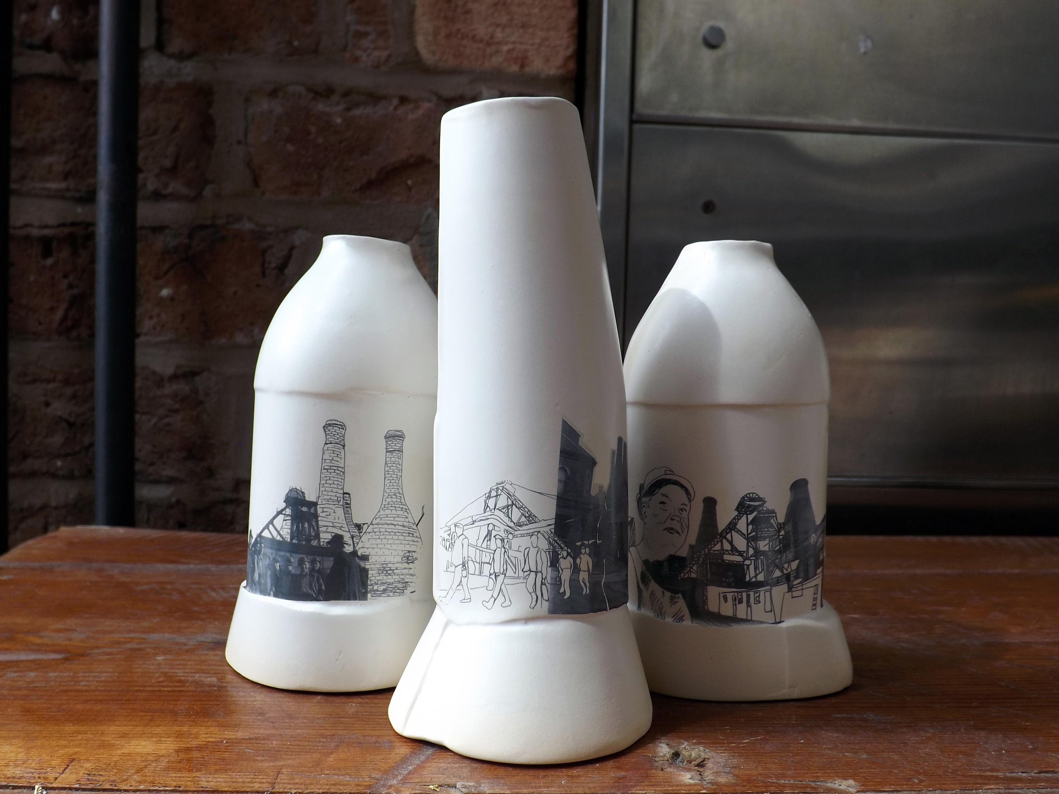 10 Ceramic vessels Stoke-on-Trent