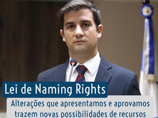 Lei de Naming Rights: alteração prevê possibilidades de recursos para esporte, cultura e mobilidade
