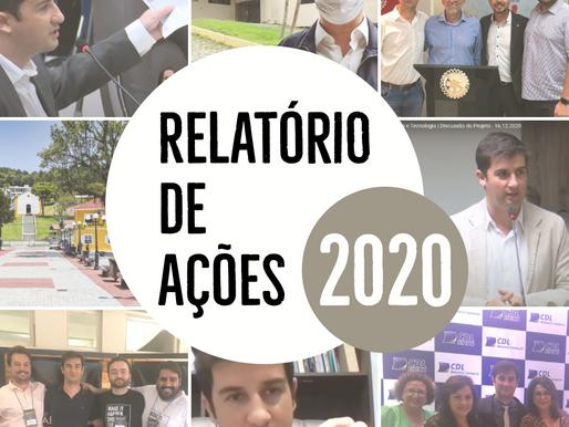 Vereador André Meirinho presta contas com relatório das suas principais ações realizadas em 2020