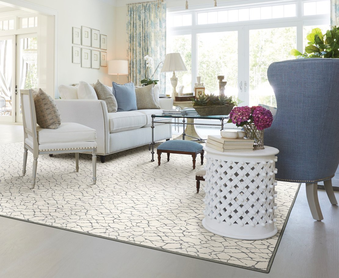 Custom sized area rug from Anchor Rug Co.