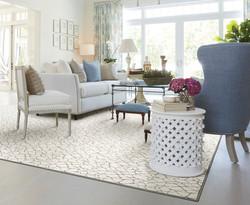 Custom sized area rug from Anchor Rug Co.