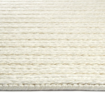 Line Weave Ivory Ready-Made Rug