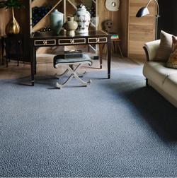 Custom sized area rug style Tanzania from Anchor Rug Co.