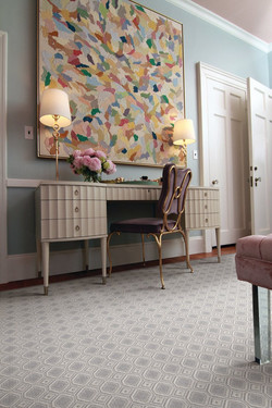 Custom sized area rug Style-Paragon from Anchor Rug Co.