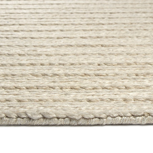 Line Weave Beige Ready-Made Rug