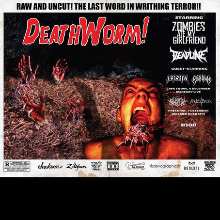 Deadline set for mini SA DeathWorm Tour with ZAMG and several top supporting bands!