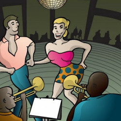 orquesta-de-la-salsa-et-la-danse-vecteur_93746