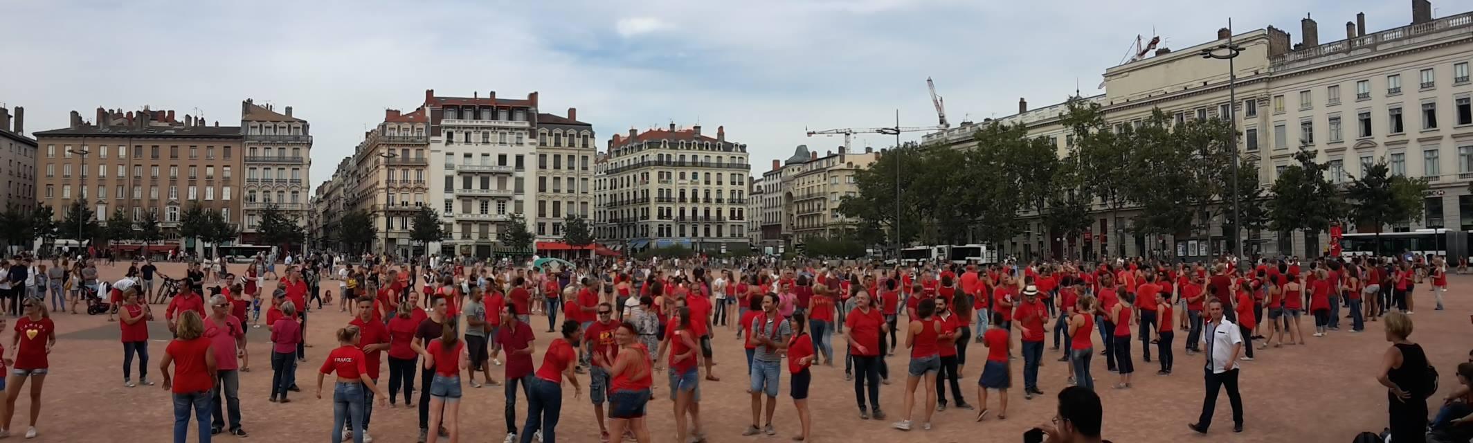 photo International flashmob WCS 2016