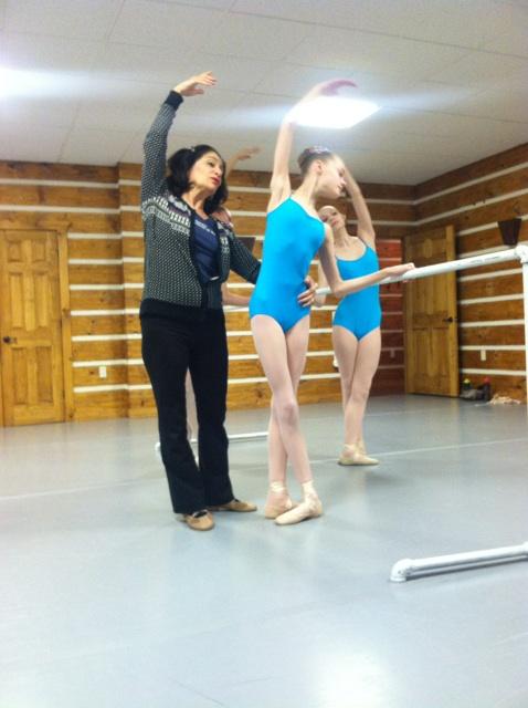Barbara Sandonato with Claire