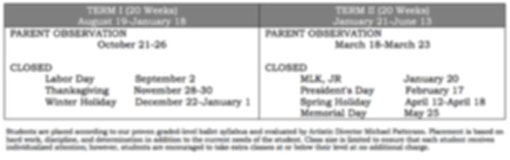 Parent Observation and School Closures
