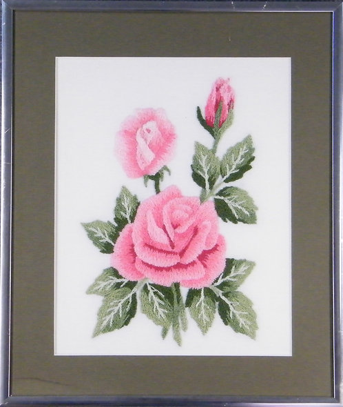 A116 Pink Roses  Size 1