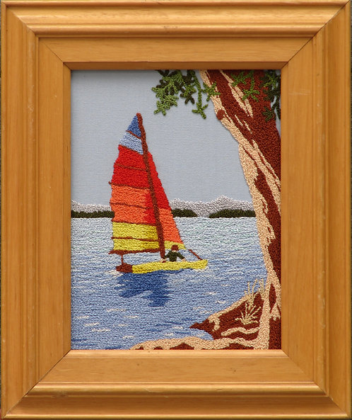 AS02 Sailing  Size S (13cmx17.5cm)