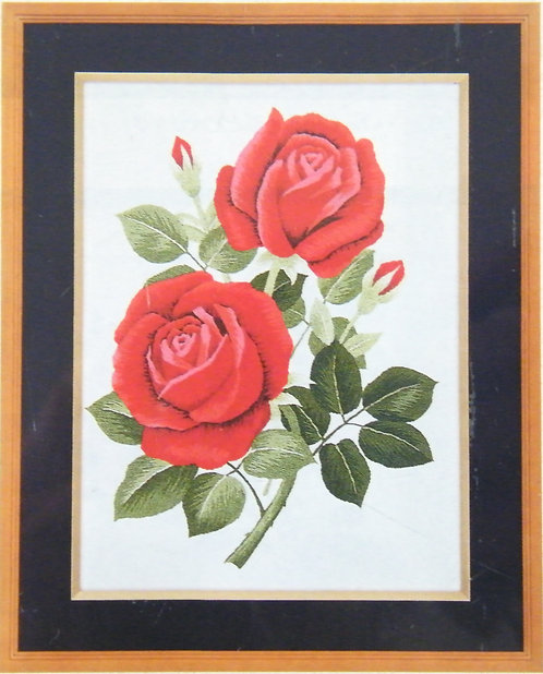 A148 Two Roses  Size 3