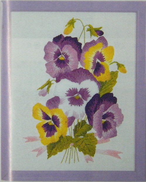 Kit 747 Pansies  Size 1