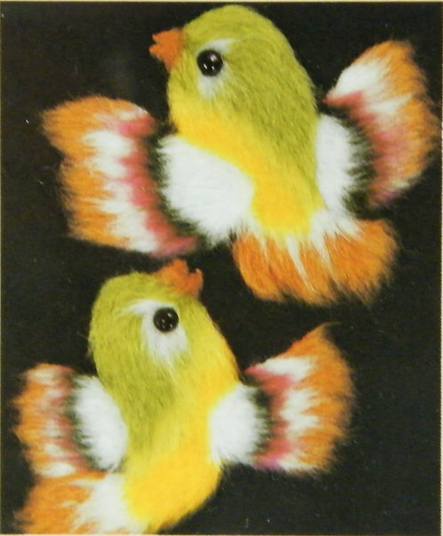 Kit 758 Fluffy Little Birds  Size 1