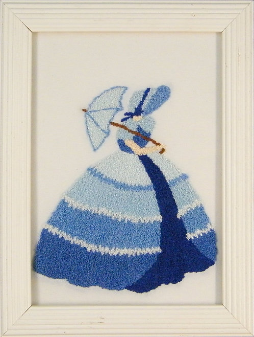 AS23 Blue Crinoline Lady  Size S