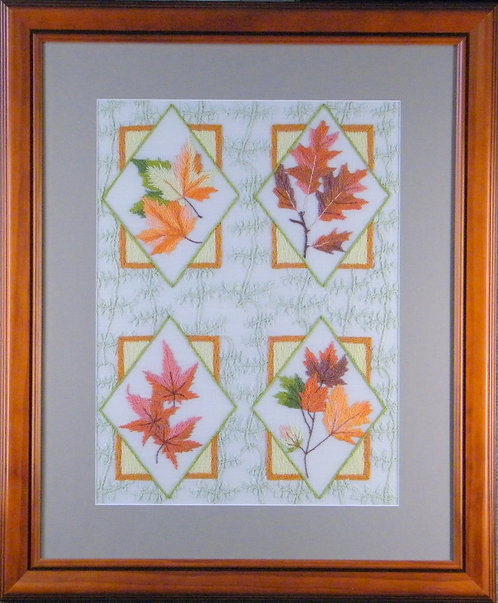 A316 Autumn Leaves  Size 3