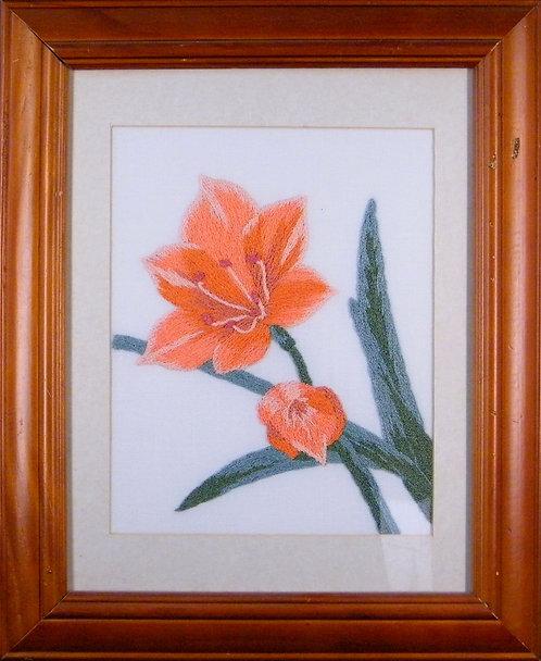 A128 Orange Lillies  Size 1
