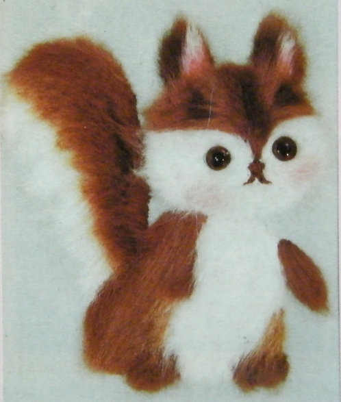 Kit 761 A Fluffy Squirrel  Size 1
