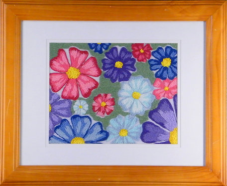A136 Flowers  Size 1