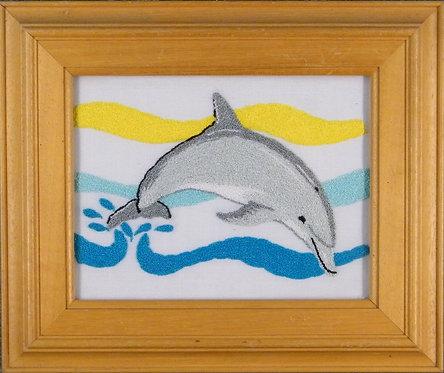 AS03 Dolphin  Size S (13cmx17.5cm)