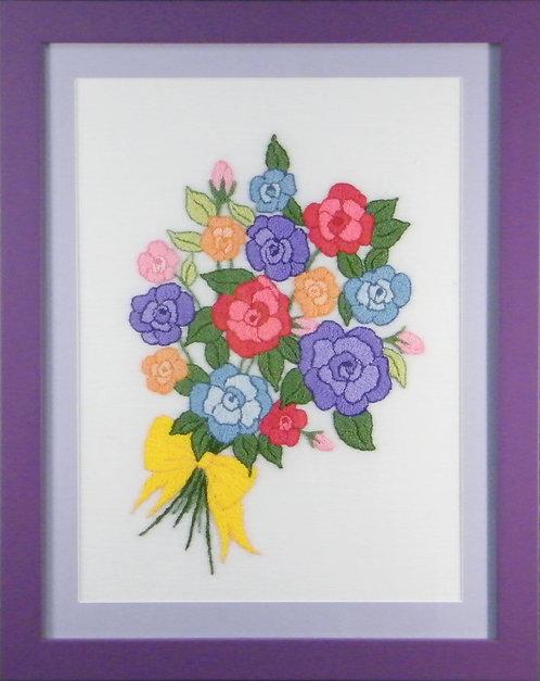 A327 Rose Bouquet  Size 3
