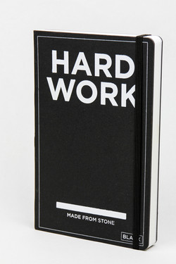 Hard Work Book - Blanko