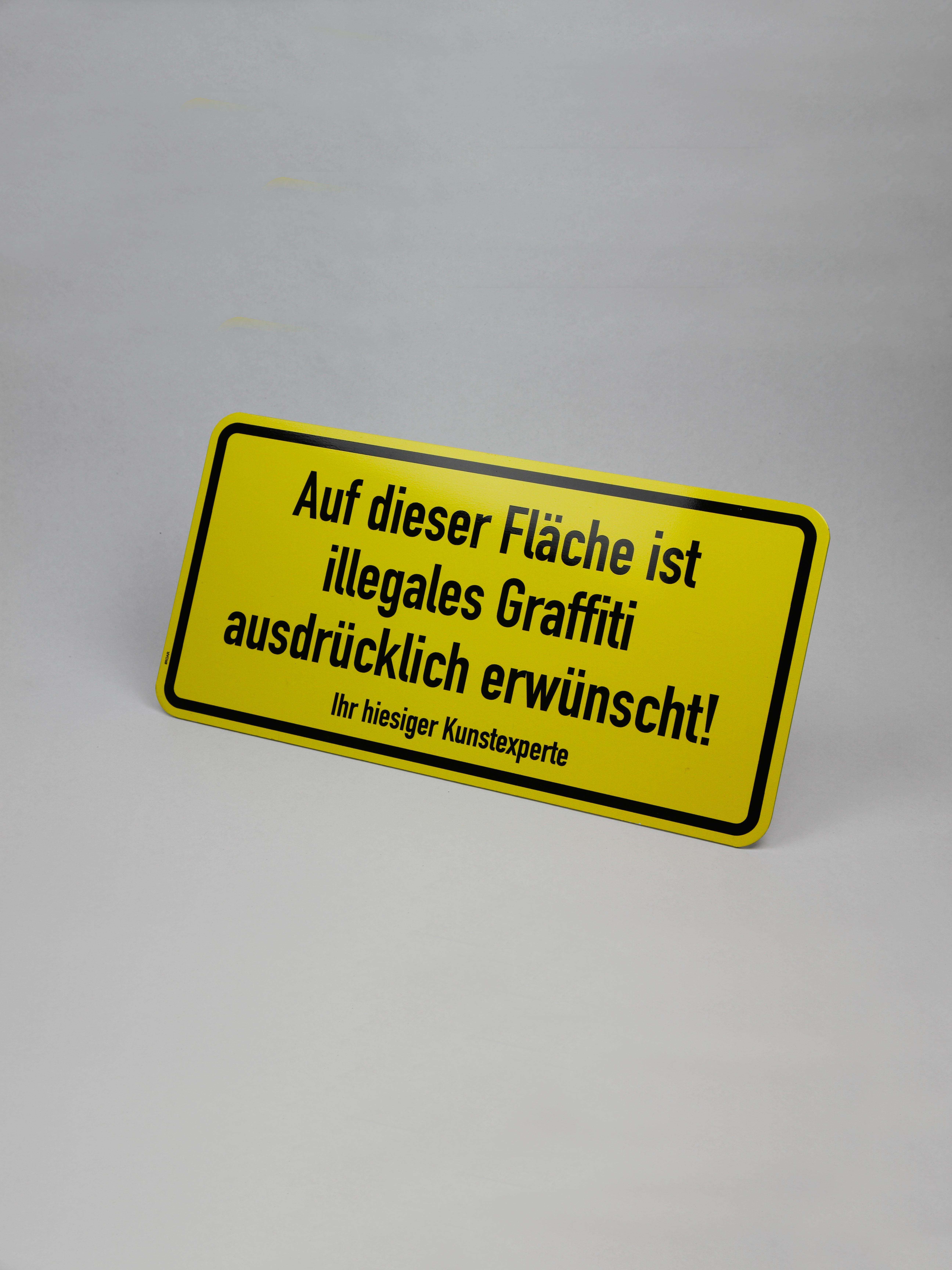 """""""illegales Graffiti erwünscht!"""""""