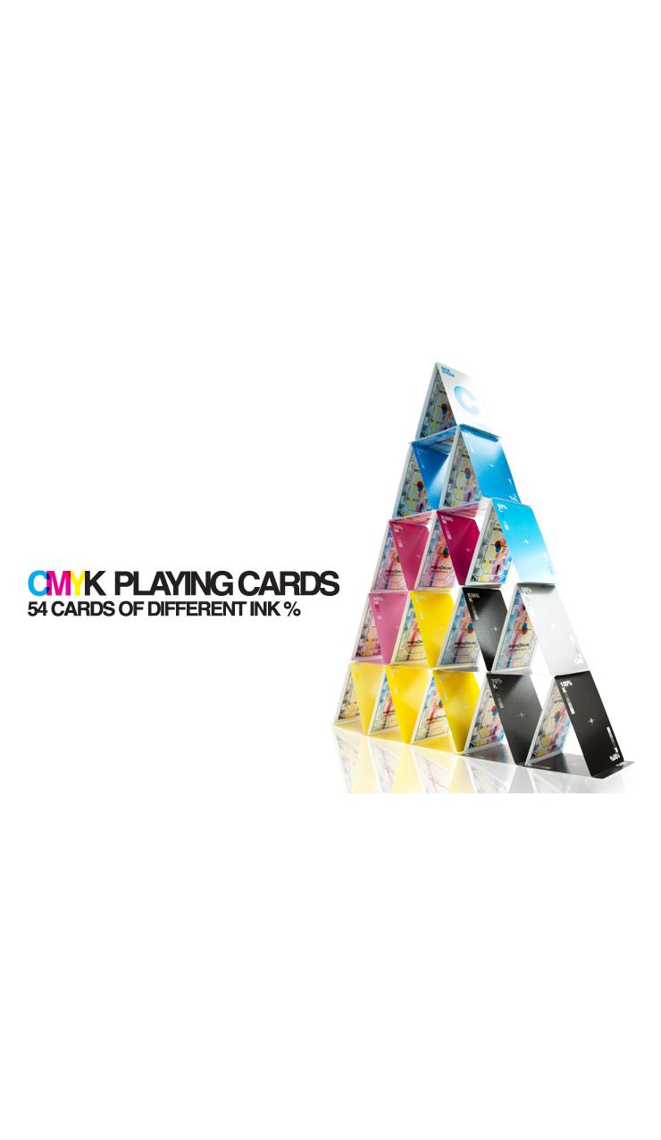 CMYK Spielkarten