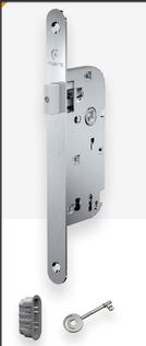 Serrure magnetique 519 à clé axe 40 INOX