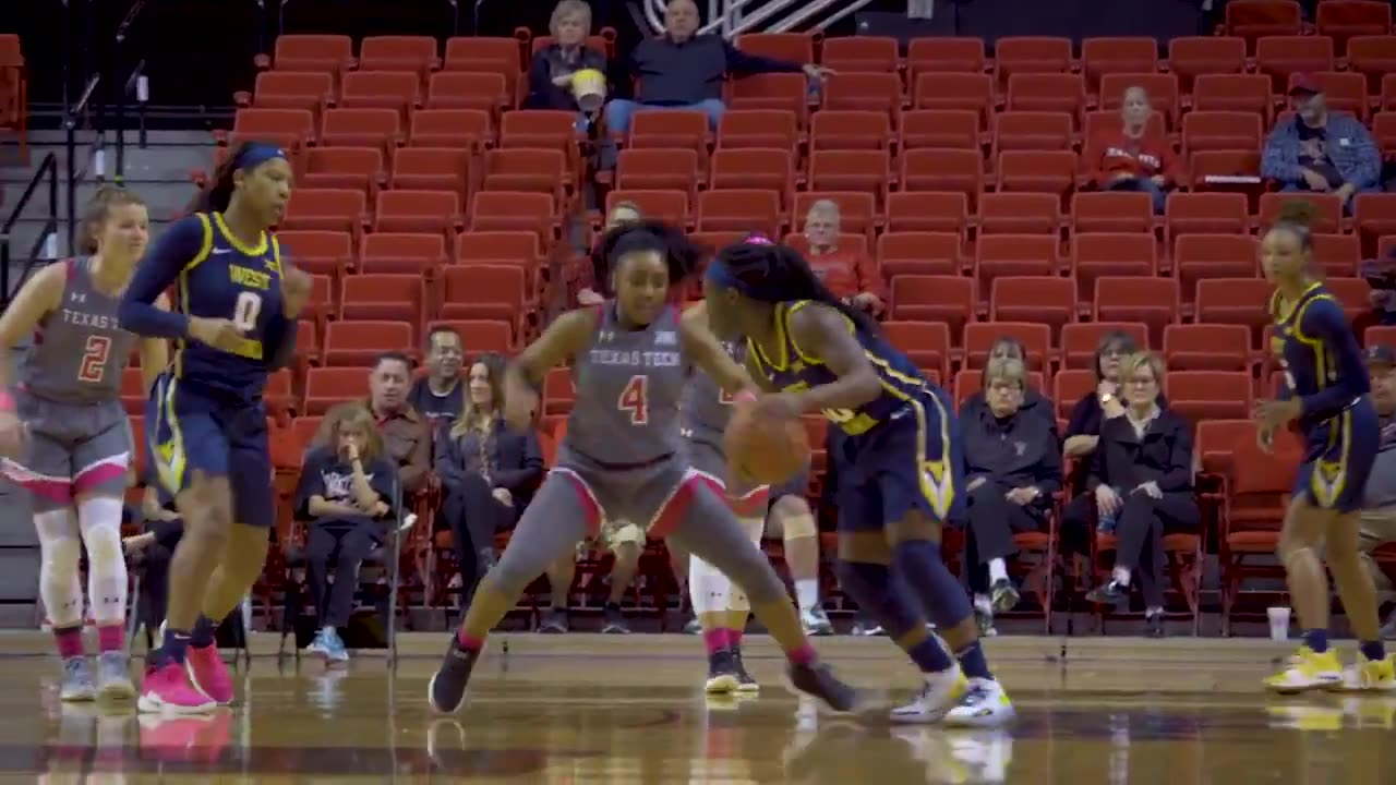 Lady Raiders 72, WVU 75