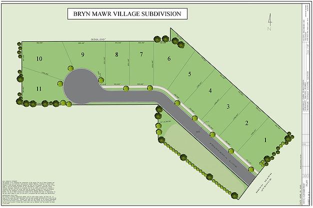 Bryn Mawr Village Map