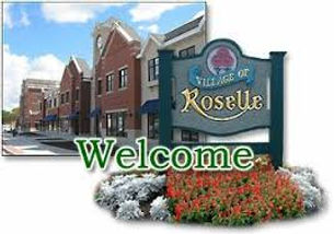 Welcome to Roseville sign