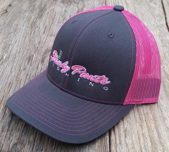 Pink/Grey Name Hat