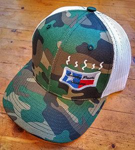 Camo/White Logo Hat