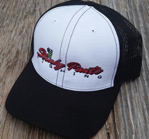 White/Black Name Hat