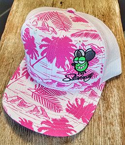Pink Palm Stanknasty Hat