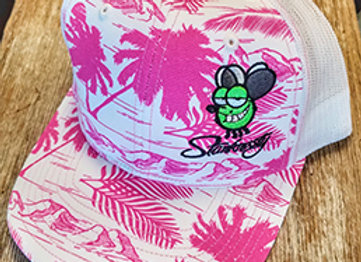 Pink Palm Stanknasty Hat