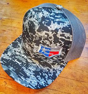 Digital Camo Logo Hat