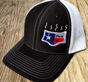 Black/White Color Logo Hat